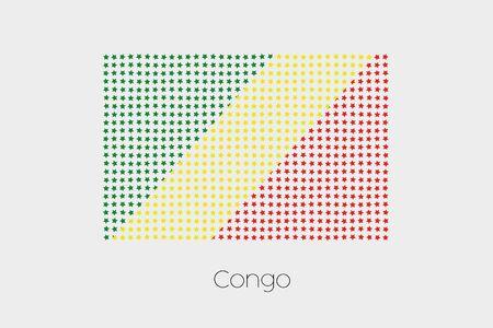 Congo: A Flag Illustration of Congo