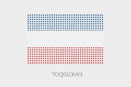 yugoslavia: A Flag Illustration of Yugoslavia