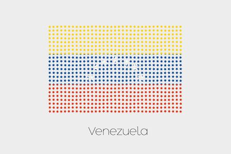 venezuela: A Flag Illustration of Venezuela