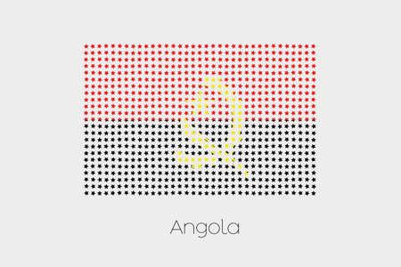 angola: A Flag Illustration of Angola