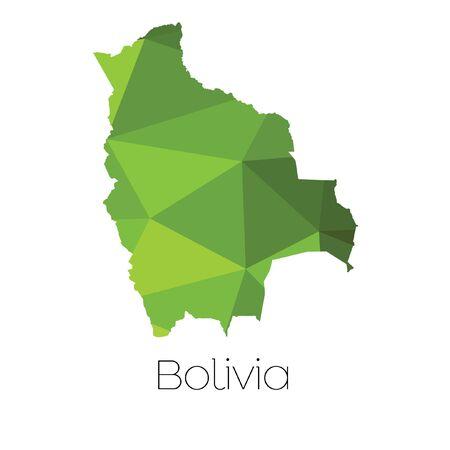 mapa de bolivia: A Map of the country of Bolivia
