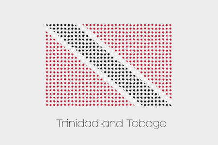 trinidad and tobago: A Flag Illustration of Trinidad and Tobago