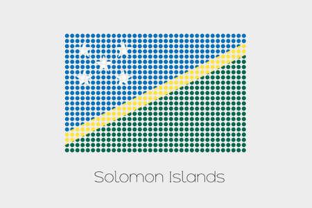 solomon: A Flag Illustration of Solomon Islands