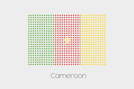 cameroon: A Flag Illustration of Cameroon