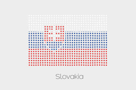 slovakia: A Flag Illustration of Slovakia