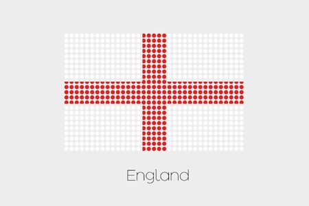 england politics: A Flag Illustration of England