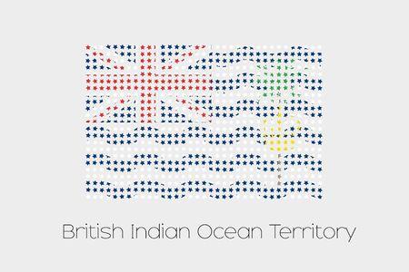indian ocean: A Flag Illustration of British Indian Ocean Territory
