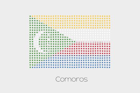comoros: A Flag Illustration of Comoros