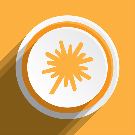 thick: An Icon Illustration Isolated on a Background - Explosion Thick