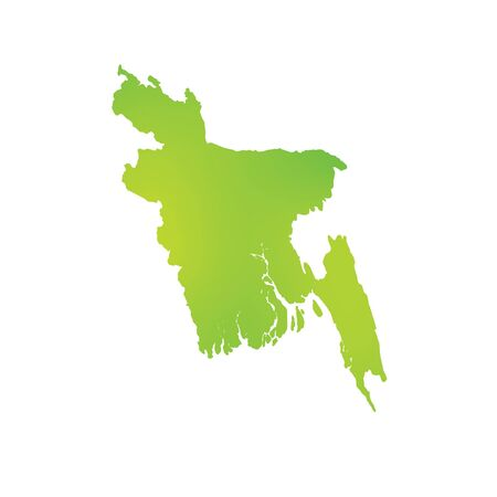 country: A Map of the country of Bangladesh