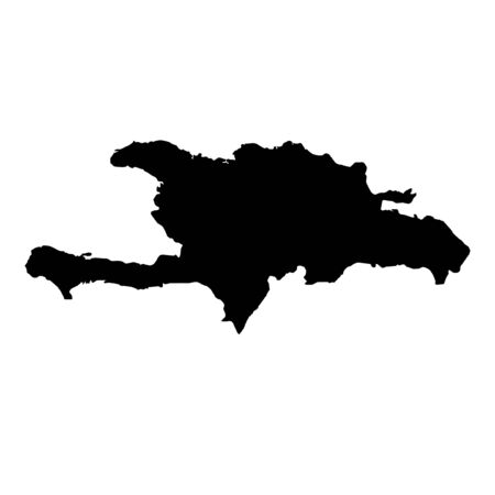 dominican republic: A Map of the country of Dominican Republic
