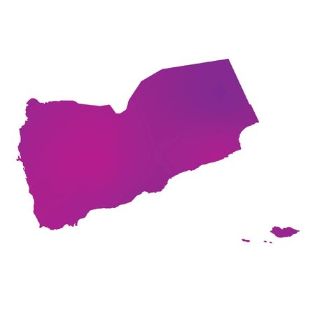 country: A Map of the country of Yemen