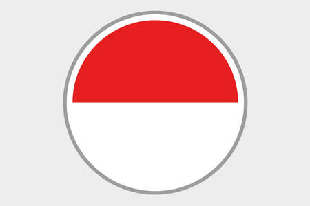 indonesia culture: A Flag Illustration of the country of Indonesia