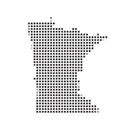 minnesota: A Map of the the state  Minnesota