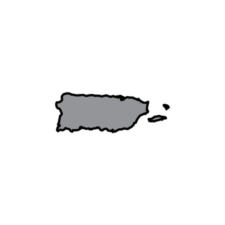 puertorico: A Map of the country of PuertoRico