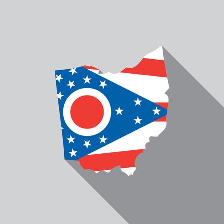 A United States Illustration of Ohio