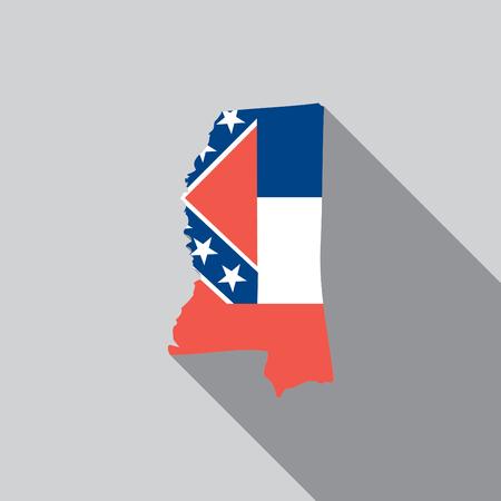 A United States Illustration of Mississippi