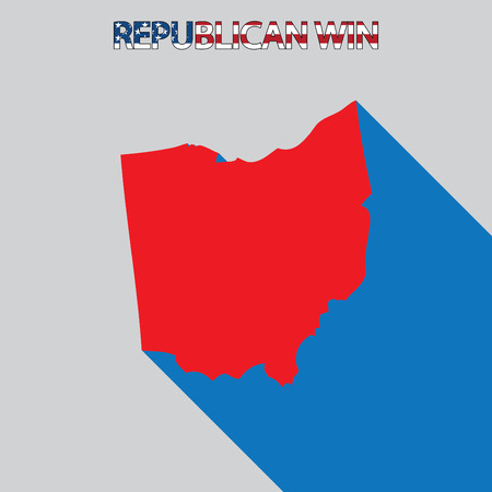 endorsing: The United States Election Illustration for Ohio