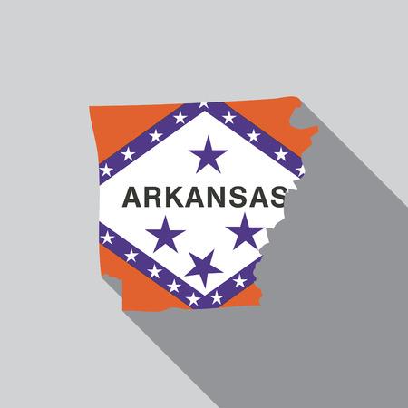 A United States Illustration of Arkansas