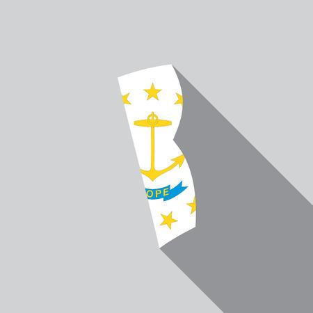 endorsing: A United States Illustration of Rhode Island