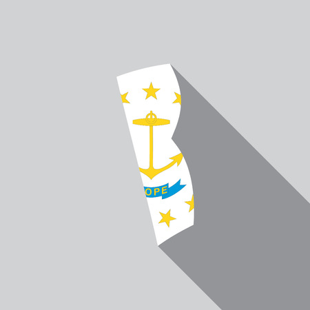A United States Illustration of Rhode Island