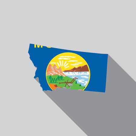 endorsing: A United States Illustration of Montana