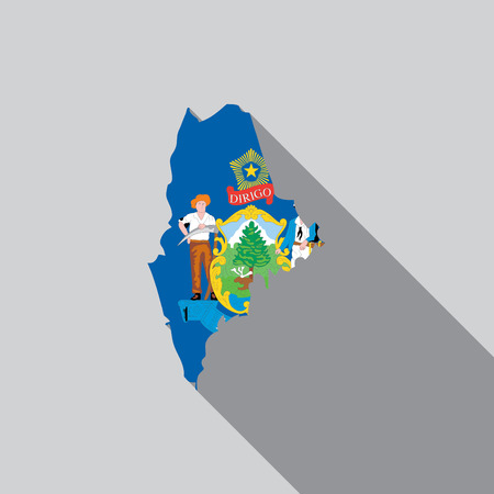 maine: A United States Illustration of Maine