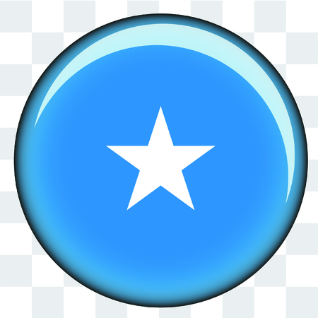 somalia: An Illustrated Country Flag of  Somalia