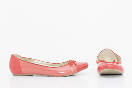 High heels isolated on white a background Stock Photo