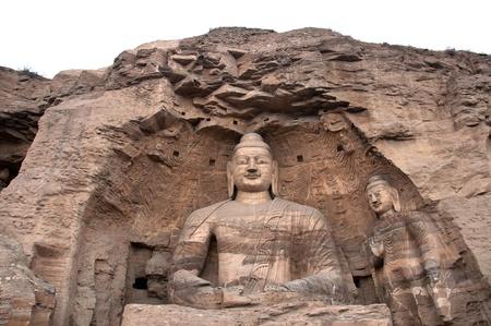 Giant Buddha at the Yungang Grottoes, Shanxi