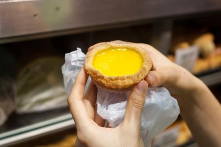 卵のカスタード タルト、Hong Kong スナック