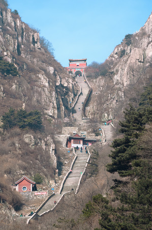 Stairway to Heaven, Taishan, China