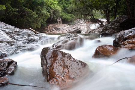 than: Than Mayom Waterfall, Koh Chang, Thailand
