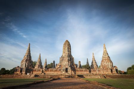 Wat Chaiwatthanaram buddhist temple, Ayutthaya, Thailand