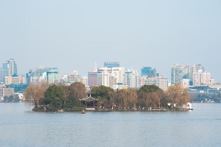 islet: Ruangong Islet at West Lake, Hangzhou
