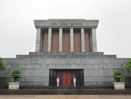 Ho Chi Minh Mausoleum in Ba Dinh Square, Hanoi, Vietnam.