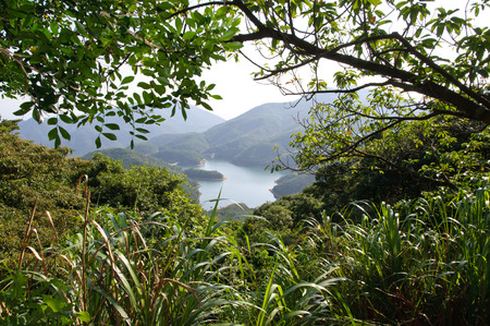 Located in Tai Tam Country Park on Hong Kong Island, the area around Tai Tam reservoir is a popular Hong Kong hiking destination.