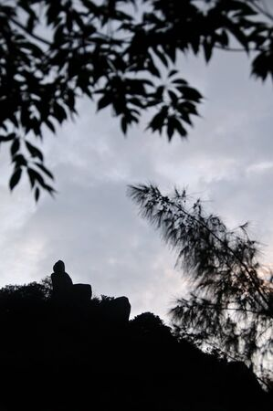 Located near the town of Sha Tin in Lion Rock Country Park, Amah Rock is a popular hiking and tourist destination in Hong Kongs New Territories.