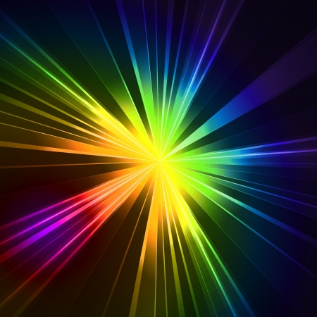 rainbow color star: Abstract background Stock Photo