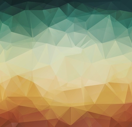 Vector Abstract geometric pattern retro background