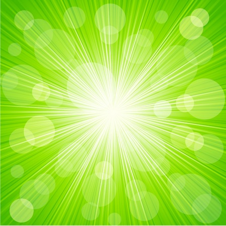 Vector Abstract  sunburst light background Banco de Imagens - 33794263