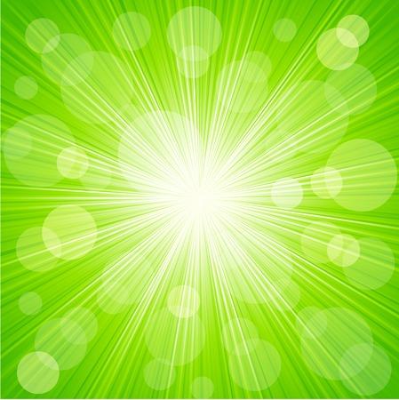 Vectorielle Abstract sunburst fond de lumière Banque d'images - 33794263