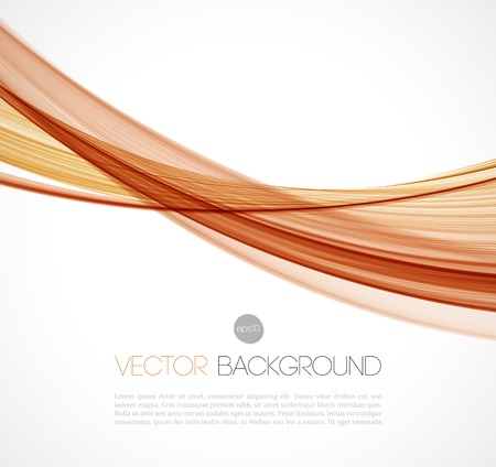 red smoke: Vector illustration Abstract colorful transparent wave. EPS 10 Illustration