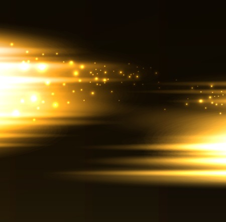 are gold: Vector Abstract dark background with  light lines Illustration