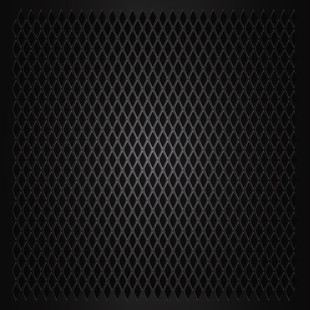 metal grid: Vector Abstract metal grid background Illustration