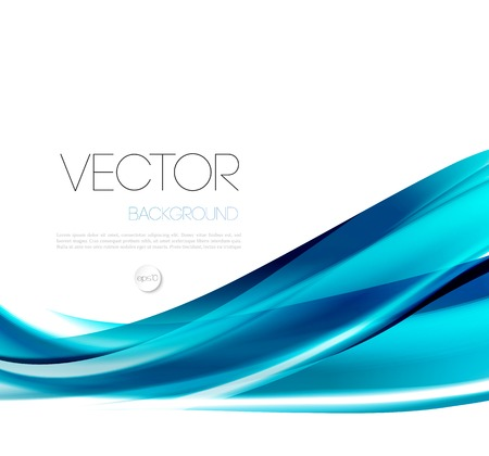 air flow: Vector Abstract wave template  background brochure design