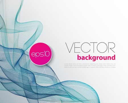 abstract wallpaper: Vector Abstract wave template  background brochure design