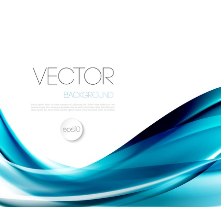 nature abstract: Vector Abstract wave template  background brochure design