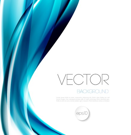 water wave: Vector Abstract wave template  background brochure design