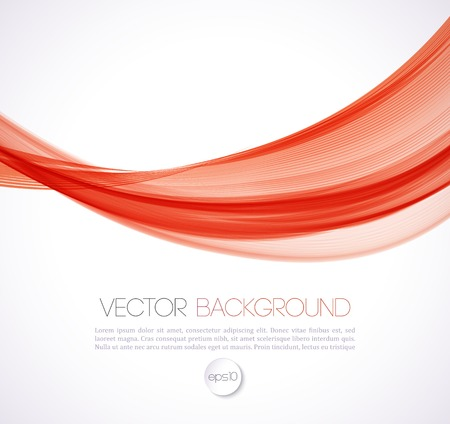 Vector Abstract smoky waves  background. Template brochure design 矢量图像